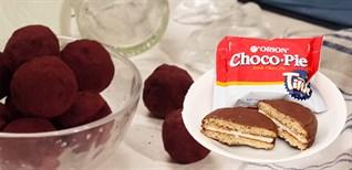 Tận dụng bánh Chocopie để làm quà tặng Valentine dễ thương cho cô nàng hậu đậu