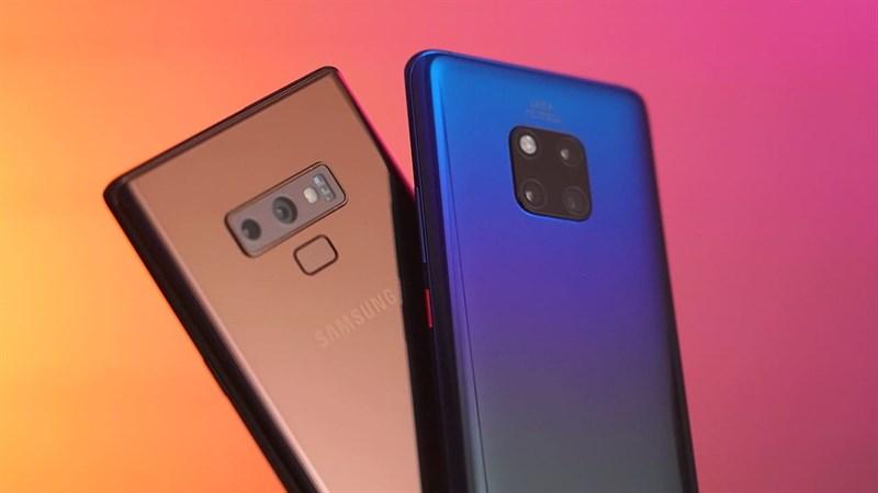 Huawei sắp vượt mặt Samsung để trở thành hãng smartphone lớn nhất thế giới