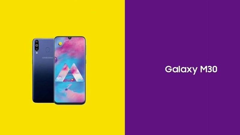 Samsung xác nhận Galaxy M30 có 3 camera mặt sau, ra mắt vào ngày 27/2