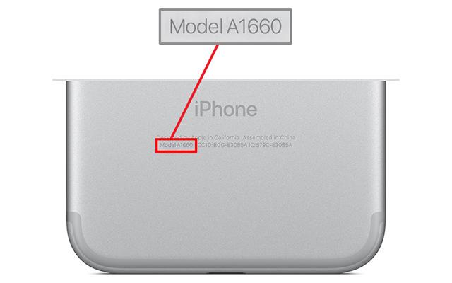 MODEL IPHONE