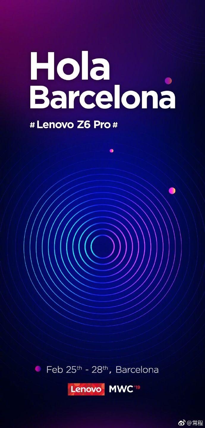 Teaser Lenovo Z6 Pro