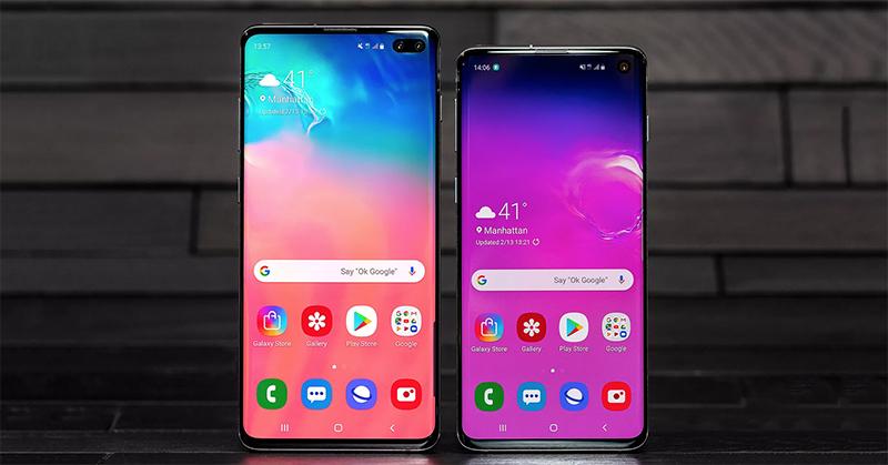 Galaxy S10 và Galaxy S10+