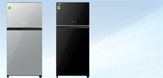 Đánh giá tổng quan bộ đôi tủ lạnh mặt gương Toshiba Inverter 555 lít GR-AG58VA (X)