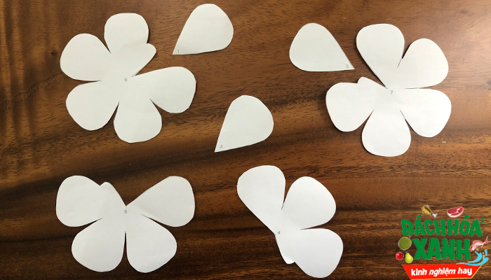 Cách làm hoa hồng bằng giấy cực đẹp tặng người yêu