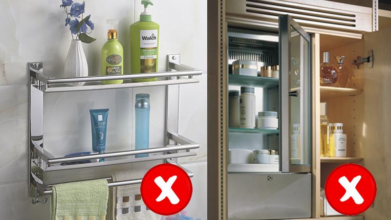 Không bảo quản hydroquinone trong ngăn đông tủ lạnh hoặc trong phòng tắm