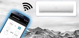 Những lợi ích khi mua máy lạnh có chức năng điều khiển bằng điện thoại, có wifi