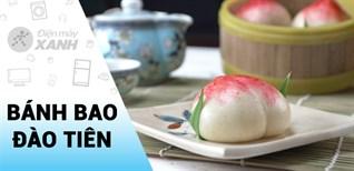 [Video] Chi tiết cách làm bánh bao đào tiên đẹp mắt thơm ngon dễ làm tại nhà
