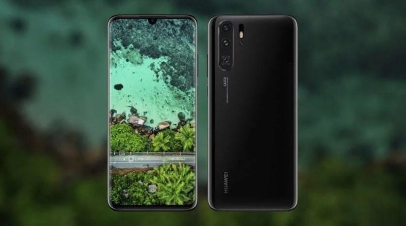 Huawei P30 và P30 Pro lộ nhiều ảnh render sắc nét: Màn hình cong 3D, 3 camera