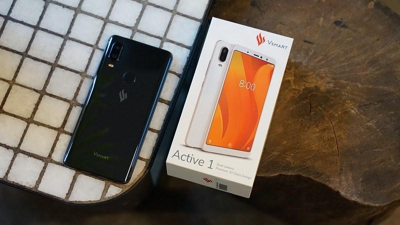 Bộ đôi smartphone Việt – Vsmart Active 1 và Active 1+ giảm giá mạnh