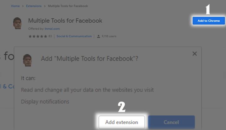 Cách thống kê tin nhắn Facebook xem ai nhắn tin với bạn nhiều nhất