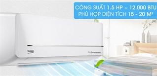 Đánh giá tổng quan máy lạnh Beko Inverter 1 HP RSVC09VS