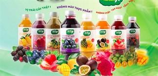 Những thức uống thơm ngon được pha từ sinh tố đóng chai