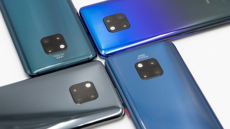 Dòng Huawei Mate 20 đã bán được hơn 10 triệu chiếc trong 4.5 tháng