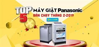 Top 5 máy giặt Panasonic bán chạy nhất Điện máy XANH tháng 2/2019
