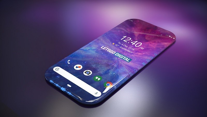 Samsung đang sản xuất smartphone với màn hình tràn cạnh thực sự