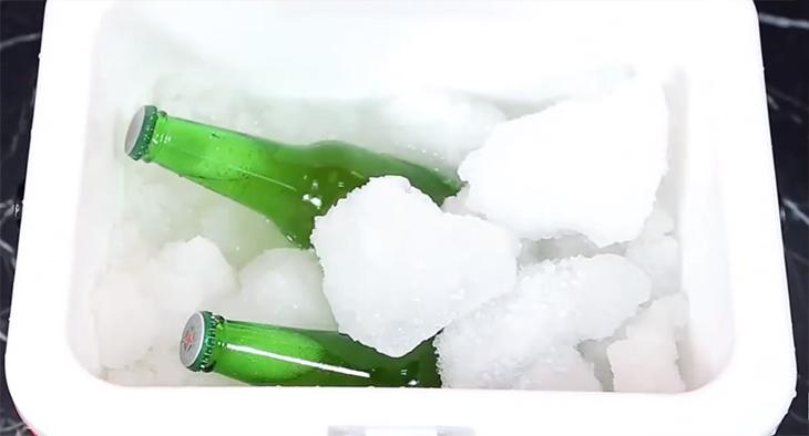 Cách làm bia sệt bằng thùng giữ nhiệt hoặc thùng sốp