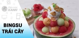 [Video] Cách làm Bingsu trái cây cực ngon dễ làm tại nhà
