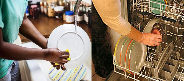 Máy rửa chén có tốn nước không?
