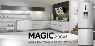 Ngăn Magic Room -18 đến 5 độ trên tủ lạnh Aqua là gì? Lợi ích như thế
