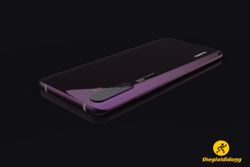 Concept Huawei P30 Pro: Thiết kế tràn viền cực đỉnh, 4 camera mặt sau