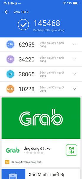Đánh giá hiệu năng Vivo V15