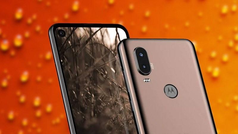 Motorola One Vision lộ ảnh render với màn hình đục lỗ, camera 48 MP