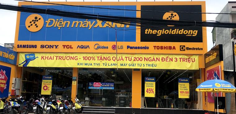 Siêu thị điện máy xanh tại 178 Lã Xuân Oai, P. Tăng Nhơn Phú A, Q. 9, TP. HCM (đoạn giữa chợ nhỏ và ngã 3 xóm bến)