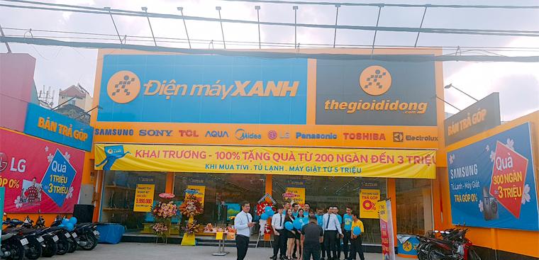 Siêu thị điện máy xanh tại 650 Trường Chinh, P.15, Q.Tân Bình, TP.HCM (Gần BigC Pandora)