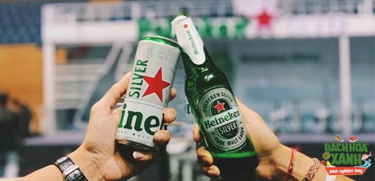 Trên tay Heineken Silver và cảm nhận đầu tiên khi uống thử