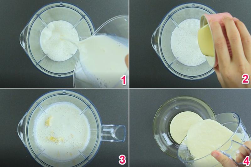 Làm nước cốt dừa sầu riêng