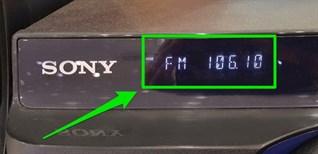Hướng dẫn nghe đài FM trên dàn âm thanh Sony
