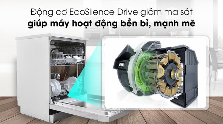 Ưu nhược điểm động cơ không chổi than trên máy rửa chén Bosch