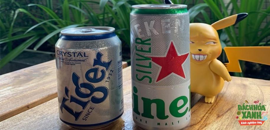 Heineken Silver và Tiger bạc nên chọn loại nào, cùng xem kết quả khảo sát