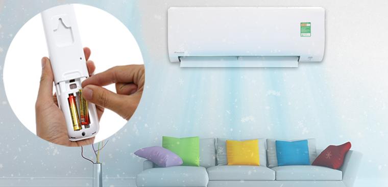 Hướng dẫn sử dụng remote máy lạnh Daikin dòng FTC_NV1V