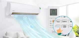 Hướng dẫn sử dụng remote máy lạnh Midea dòng MSMA3_CRN1