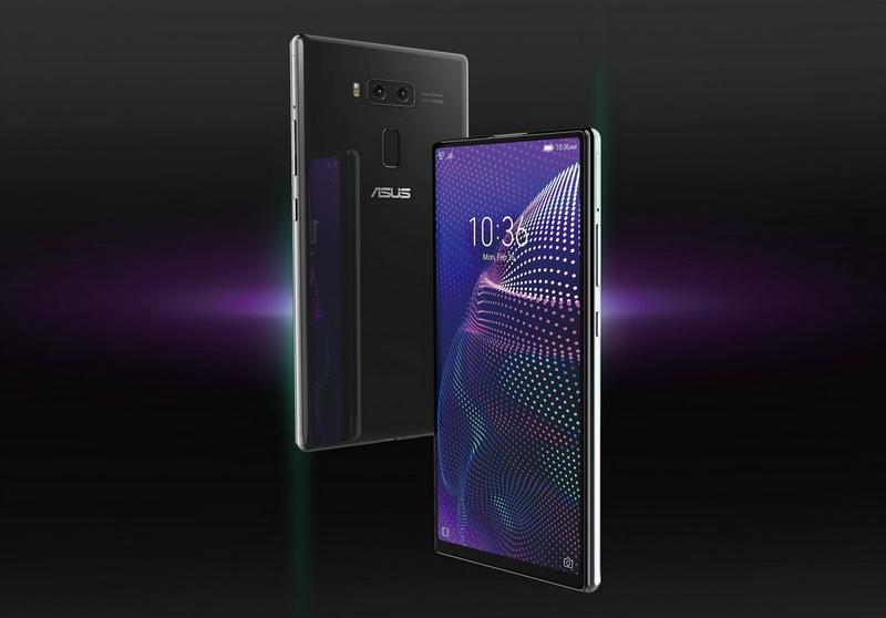 Xuất hiện smartphone Asus mới với thiết kế ấn tượng, trượt cả trên và dưới