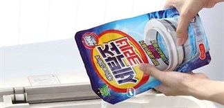 Hướng dẫn sử dụng bột làm sạch máy giặt đúng cách