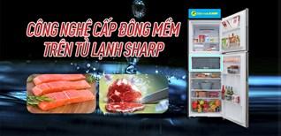 Công nghệ cấp đông mềm trên tủ lạnh Sharp là gì? Cách sử dụng thế nào?
