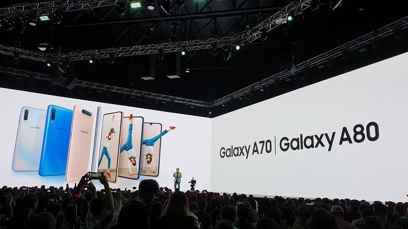 Galaxy A70 và A80 ra mắt