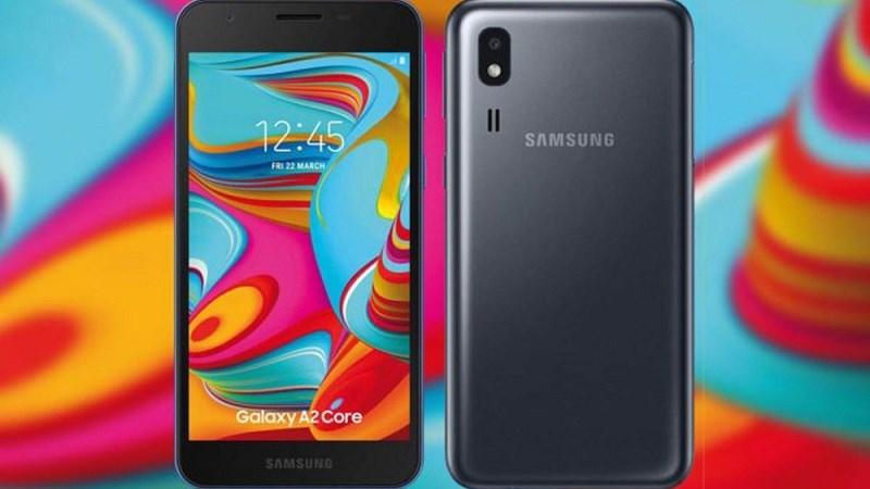 Galaxy A2 Core ra mắt tại Ấn Độ với giá 1.7 triệu đồng