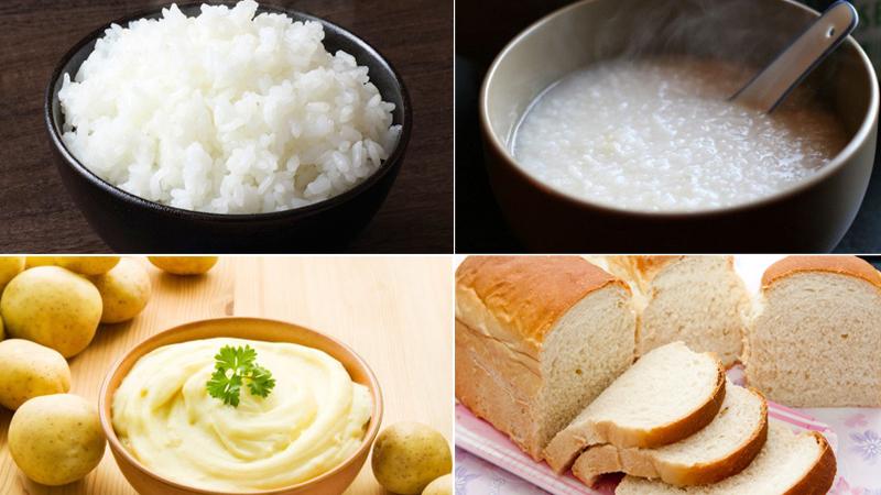 Các thực phẩm nên ăn khi bị đau bụng đi ngoài