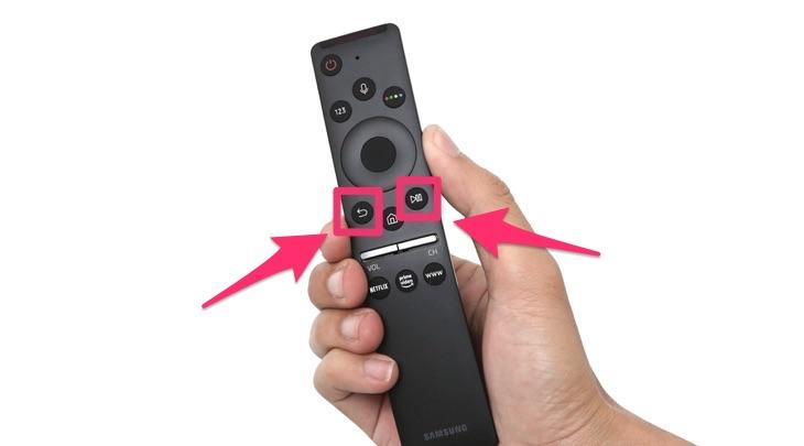 Remote thông minh của tivi Samsung
