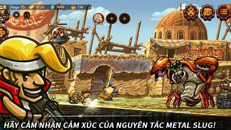 Hình ảnh trong game Metal Slug Infinity: Idle Tap Game & Retro 2D RPG