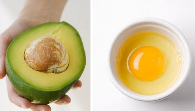 đắp mặt nạ bơ với trứng gà | Món Miền Trung