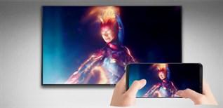 Cách chiếu màn hình điện thoại lên Smart tivi Samsung 2019