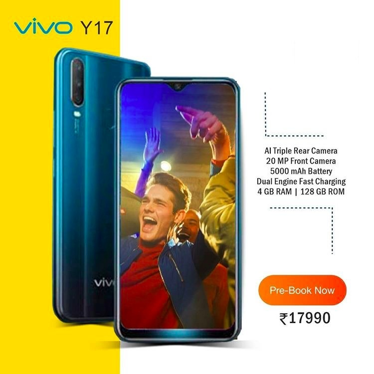 Cấu hình và giá bán của Vivo Y17