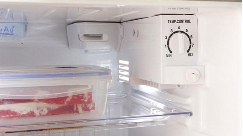 Điều chỉnh nhiệt độ tủ lạnh thích hợp