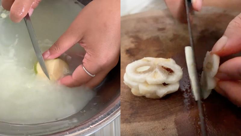 Cách làm gỏi mặt cụt tôm thịt chua ngọt, thơm ngon lạ miêng