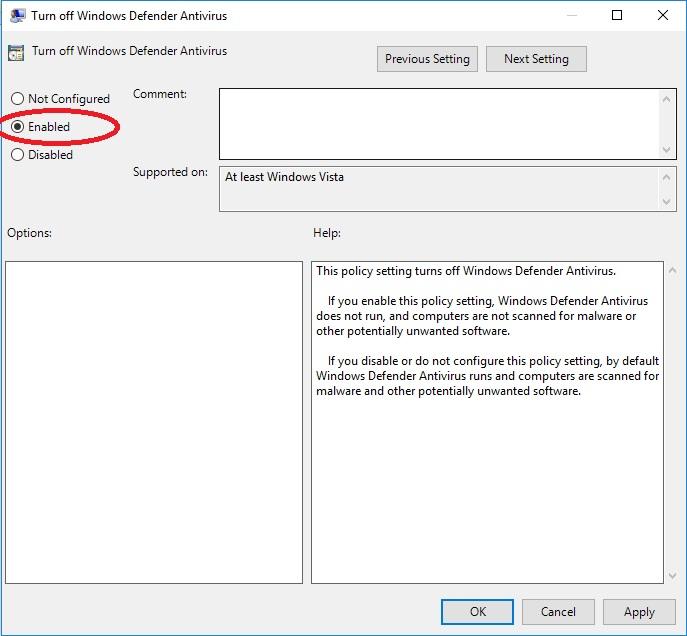 ách Vô Hiệu Hóa Windows Defender Trong Windows 10 - vera star