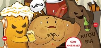 Rượu, bia ảnh hưởng đến các bộ phận cơ thể như thế nào?